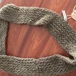 "Hand Knit - 100% Wool Cowl - RubeyLiza Homewares - ""Gertrude Moore"""