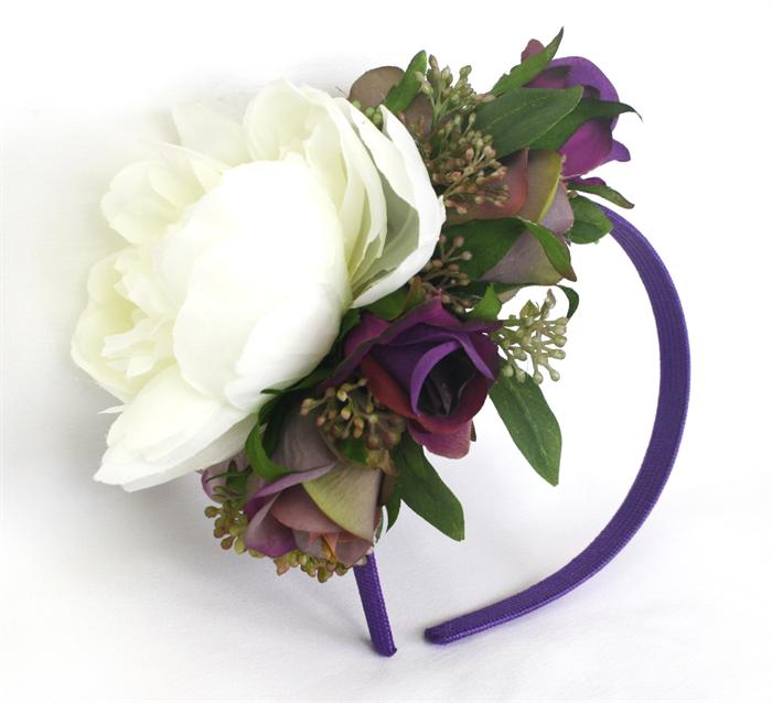 Spring Racing Floral Headband 729b731c8ac