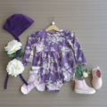 Girls Baby Toddler Long sleeved Juliet Floral Teaparty