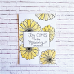 Bible verse encouragement card - Joy comes in the Morning