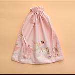 Pink Magic Parade Drawstring Bag