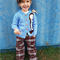 Made to order - Hickory Dickory Dock cardigan