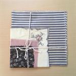 Set of 4 Beeswax food wraps