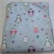 Flannelette wrap / swaddle / receiving blanket, pack of three. Baby boy.