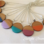 Necklace - Two Toned Bamboo