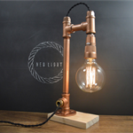 AMPERE pipe lamp copper