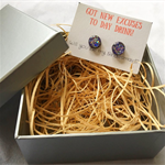 New excuses to day drink- Earring Gift Box