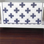 Baby Quilt - Cot Quilt - Baby Shower - Baby Bedding