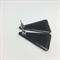Vintage Japanese Fabric Stud Earrings - FREE POSTAGE