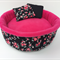 Guinea Pig Bed/Cuddle Cup Pink Flowers