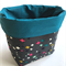 Plus Colour Fabric Storage Basket - Large