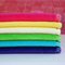 Colourful Velour Wipes - Set Of Six