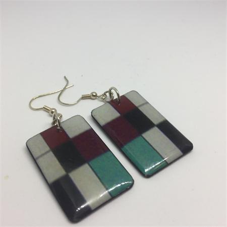 'SIXTIES' Earrings - FREE POSTAGE