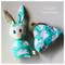 READY TO SHIP Baby Bunny & Coin Purse Set