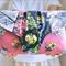 Rose pink wallet, grey wedding clutch, unique wallet, floral vegan phone wallet