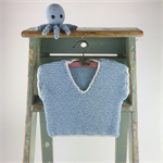 Knitted T-Shirt | Crocheted Octopus | 3 - 6 Months | Gift Set | Ready to Post