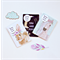 Trading Cards - pack of 5. Handcrafted children's swap cards.