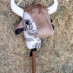 Ride on Stick Bull