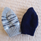 *Special * 2 beanies: Size1-3yrs: Boy, Multi colour & Navy