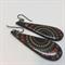 Teardrop 'Autumn' Earrings - FREE POSTAGE