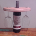 Wine Set - Wine for 2 :) Bottle + Glasses Display Holder