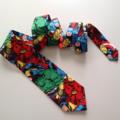 Hero inspired Ties - Men's Necktie comic book - ready to ship