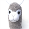 'August' the Sock Alpaca - grey marle - *READY TO POST*