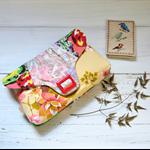 Pale pink clutch, bridal clutch bag, neutral floral cute handbag, evening purse