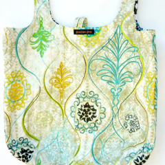 Large reversible market bag.  Environmentally friendly.