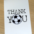 Thank you Coach card - Soccer Basketball Netball Football