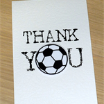 Thank you Coach card - Soccer