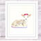 Farm Animals Set of 4 VALUE Prints, A4 Size Watercolour Farm Animals