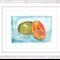 Papaya Print, A4 Size Watercolour Pawpaw, Kitchen Print