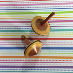 Two Small Kurara Spinning Tops (Items DF 074a and b)