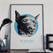 Custom Pet Portrait , Pet Art from photo, Personalized Pet Portrait,