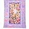 FLOWER FAIRIES MAUVE  handmade quilt