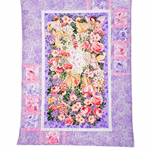 FLOWER FAIRIES MAUVE  handmade quilt