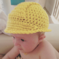 Crochet Hard Hat & Tool Belt Set