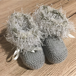 Baby Ankle Ruffle Booties