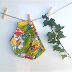 Baby girls bloomers nappy cover pants flowers bright coloured baby shorts