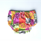 Baby bloomers nappy cover pants multicoloured patchwork​ pattern size 12mths