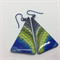 Tapestry Triangle Earrings - FREE POSTAGE