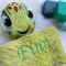 Minky Turtle 'Ruggybud' - personalised, comforter, keepsake, lovey.