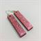 Long Pink Earrings - FREE POSTAGE