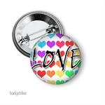 Love badge, gay pride