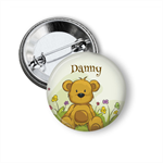 Name badge - Teddy Bear personalised badge
