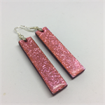 Long Pink Earrings - FREE POSTAGE