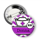 Name badge - Midwife personalised badge