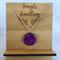 Glitter Pendant - Purple Glitz