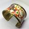 Bracelet Cuff - Japanese Kimono Fabric - FREE POSTAGE